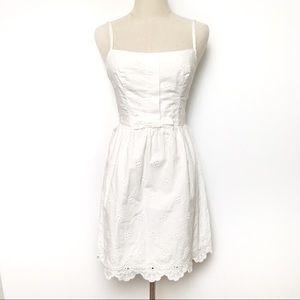 Lilly Pulitzer White Eyelet Mini Dress sz 00